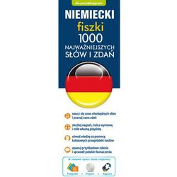 Niemiecki fiszki 1000 najważniejszych słów i zdań + CD oferta ze sklepu SELKAR