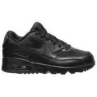 """Buty Nike Air Max 90 (PS) """"all black"""" (833420-001) - Czarny z kategorii Pozostałe obuwie dziecięce"""