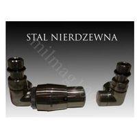 Zestaw zaworów grzejnikowych termostatycznych VISION lewy STAL NIERDZEWNA, DAA6-3199A_20140423170945