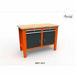 """Malow Stół narzędziowy swt 12/07 """"dwójka"""" warsztat metalowy narzędzia"""