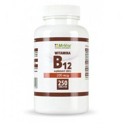 Witamina B12 250 tabl. MyVita, postać leku: tabletki
