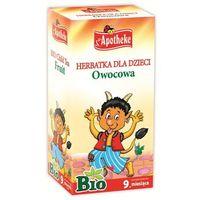 Herbatka dla dzieci - owocowa bio 20 x 2 g - apotheke marki Apotheke (bio selection)(herbatki dla dzieci i in)