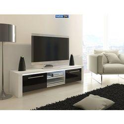 Szafka RTV VIP FELIKS 160/41/44 cm komoda tv - z opcją oświetlenia LED