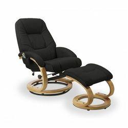 Fotel podgrzewany z masażem Keltis Black