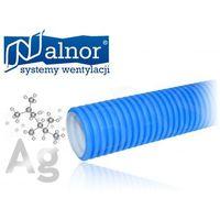 Alnor Przewód elastyczny polietylenowy z powłoką antybakteryjną 90mm/50mb (flx-hdpe-a-90)