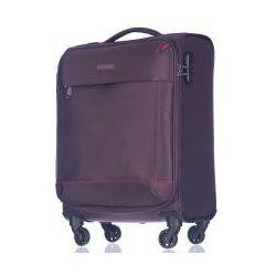 PUCCINI walizka mała/ kabinowa z kolekcji AMSTERDAM miękka 4 koła materiał Nylon zamek szyfrowy - produkt
