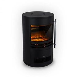 Klarstein brixen kominek elektryczny 900/1800 w instafire termostat kolor czarny