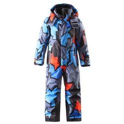 Kombinezon Reima 1cz narciarski ReimaTec REACH niebieski wzór - niebieski wzór, kup u jednego z partnerów