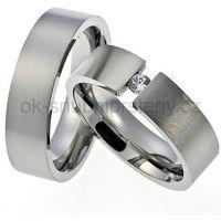 Obrączki ślubne z stali nierdzewnej OC1001 (Obrączki ślubne)