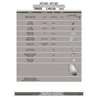 GIVI D2111KIT ZESTAW DO SZYBY YAMAHA X-MAX 125-250 (14), X-MAX 400 (13-14)