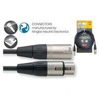 Stagg NMC 3 XX - kabel mikrofonowy 3m, DCBD-9740B
