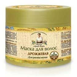 Maska do włosów drożdżowa pobudzająca do wzrostu 300ml RECEPTURY BABCI AGAFI od VisVitalis.com.pl - wyciskarki soków, blendery