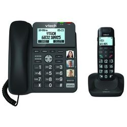 Telefon bezprzewodowy VTECH LS1650 Czarny + DARMOWY TRANSPORT! + Zamów z DOSTAWĄ JUTRO! z kategorii Telefony