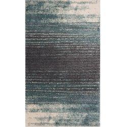 Dekoria Dywan Modern Teal blue/dark grey 160x230cm, 160x230cm