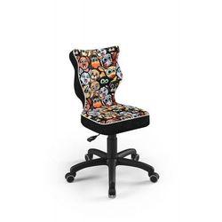 Entelo Krzesło dziecięce na wzrost 119-142cm petit black st28 rozmiar 3