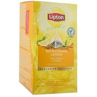 Lipton Czarna herbata  piramida lemon 25 kopert (8718114995212)