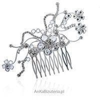 Anka biżuteria Biżuteria ślubna grzebień do włosów