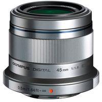 Obiektyw  m.zuiko digital 45 mm 1:1.8 et-m4518 marki Olympus