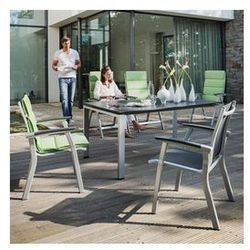 Krzesło ogrodowe sztaplowane Kettler AVANCE Szary ze sklepu ACTIVEMAN