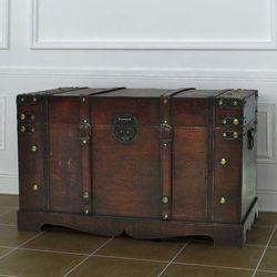 drewniana skrzynia vintage. marki Vidaxl