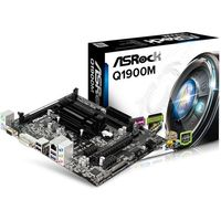 Płyta główna ASRock Q1900M J1900 BAY TRAIL 2DDR3 GLAN/6CH/USB3 uATX - Q1900M (Q1900M) Darmowy odbiór w 15