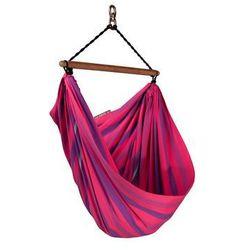 Fotel hamakowy dla dzieci LORI, Różowy LOC110
