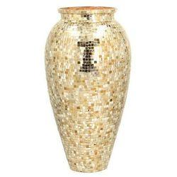 wazon soho gold wys. 45cm -70%, 45cm marki Dekoria