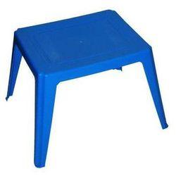 Stolik dziecięcy As prostokątny niebieski