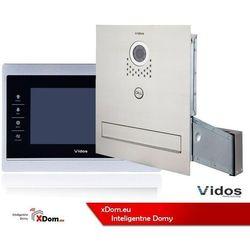 Zestaw wideodomofon skrzynka na listy. monitor 7'' marki Vidos