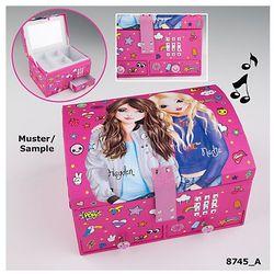Top Model, szkatułka na kod z dźwiękiem, różowa