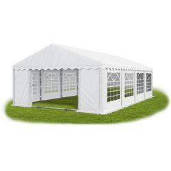 Namiot 5x8x2, wzmocniony pawilon ogrodowy, summer plus/ 40m2 - 5m x 8m x 2m marki Das company