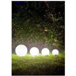 Zestaw dekoracyjne kule ogrodowe - luna balls 20, 25, 30, 40 cm + żarówki led marki Lunares