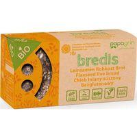 Chleb lniany suszony z słonecznikiem i lnem bezglutenowy bio 70 g - papagrin marki Papagrin (przekąski raw)