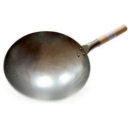 Wok ręcznie kuty ze stali węglowej - średnica 33cm marki Sklep.nasushi
