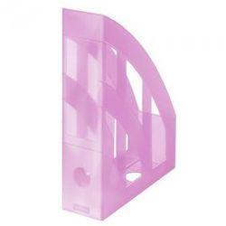 Pojemnik na dokumenty stojący różowy (4008110518275)
