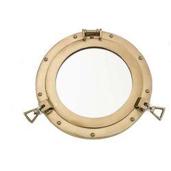 Bulaj - iluminator lustro mosiądz 20 cm marki Nauticdecor