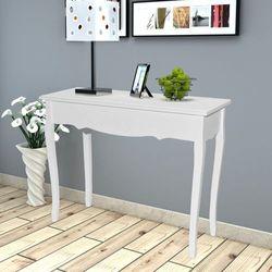 biała konsola/stolik boczny marki Vidaxl