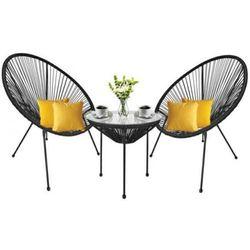Teamveovision Zestaw ogrodowy strip o15 dwa fotele i stolik