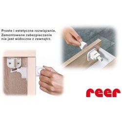 Zabezpieczenie szafek magnetyczny zamek 2szt, - 2szt marki Reer