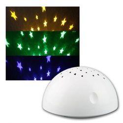 Reality leuchten r53430001 lampka nocna led z projektorem gwiazd marki Reality by trio