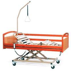 Łóżko elektryczne drewniane - czterosegmentowe - INTERVAL 3