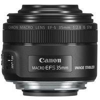 ef-s 35mm f/2.8 macro is stm slr macro lens czarny marki Canon