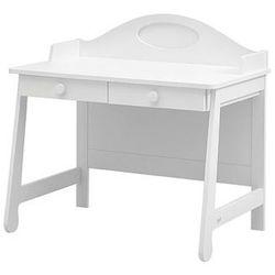 PAROLE białe biurko toaletka - biały - produkt z kategorii- Biurka
