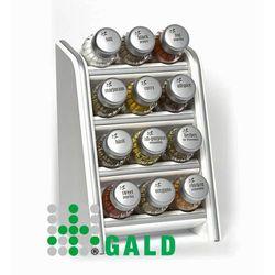 półka z przyprawami 12-el biała mat 5901832920342 marki Gald