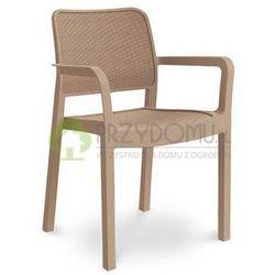 Krzesło ogrodowe SAMANNA cappuccino z kategorii Krzesła ogrodowe