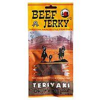 BULLSEYE MEATS 50g Beef Jerky Teriyaki Peklowana suszona wołowina | DARMOWA DOSTAWA OD 150 ZŁ! (kuchnia świ
