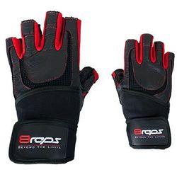 8reps Rękawice kulturystyczne  dd-104w bestrong męskie czerwony (rozmiar xl), kategoria: rękawice do walki