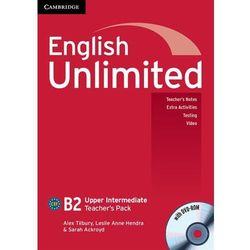 English Unlimited Upper Intermediate. Książka Nauczyciela + DVD, rok wydania (2011)