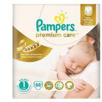Pampers  pieluchy premium care 1 newborn (88 szt.), kategoria: pieluchy jednorazowe