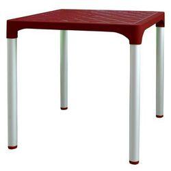 MEGA PLAST stół MP1351 VIVA, czerwony